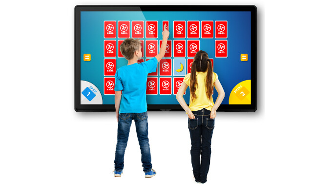 Fuhu showcases an insane, 65-inch Android tablet with a 4K display, a Tegra X1 processor, and 4GB of RAM