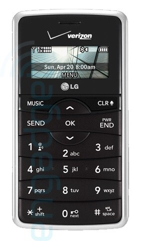 Updated images of the LG VX9100 enV2