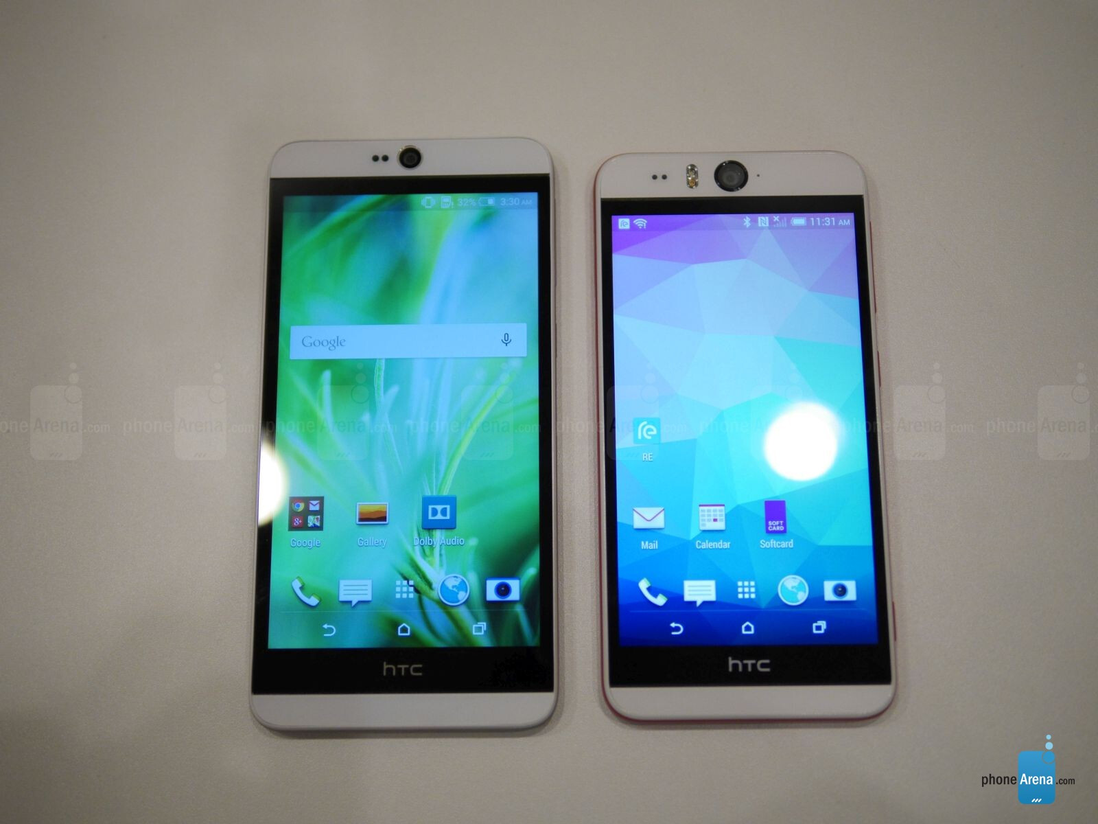 HTC Desire 826 vs HTC Desire EYE: first look