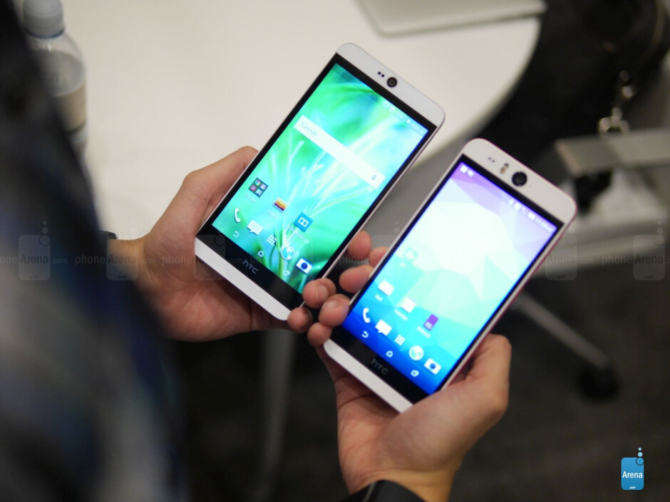 HTC Desire 826 vs HTC Desire EYE: first look
