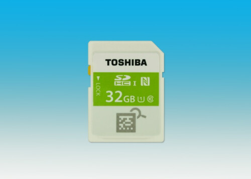 Toshiba SDHC memory card