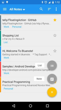 Bluenote app