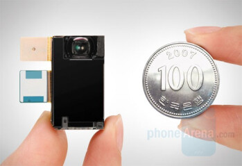 Samsung reveals new 8-megapixel camera module for phones