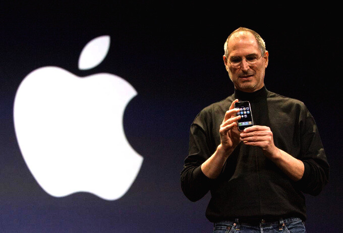 Steve Jobs unveiled the original Apple iPhone exactly 8 years ago today, history was made