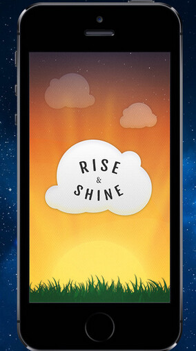Rise and Shine will get you smiling to start each day - You'll be smiling to greet each day with the Rise and Shine alarm clock app for the iPhone