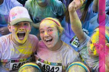 With hundreds of events per year, The Color Run sponsorship will bring new visibility to Alcatel
