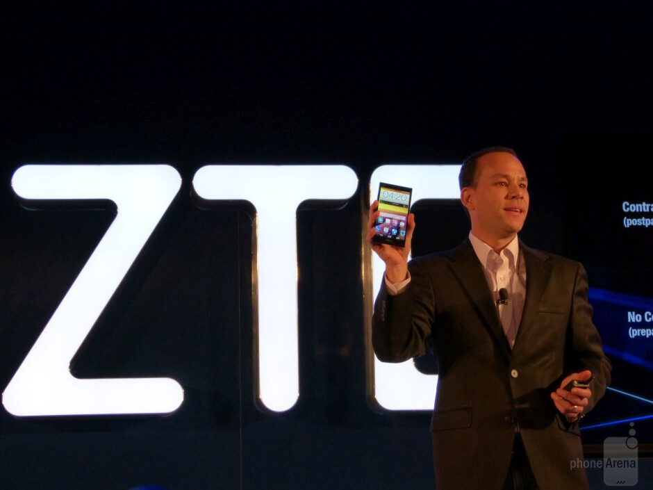 ZTE USA VP - Technology Planning and Partners, Jeff Yee, introduces the new Grand X Max+ for Cricket, on sales now for just $200 and no contract - From CES 2015 – Brands to watch in the US: ZTE (part 2 of 2)