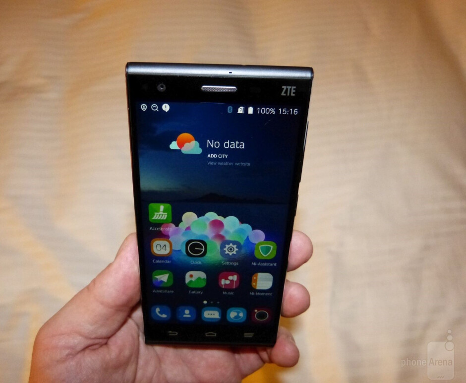 The ZTE Star II would be flagship contender in any market today - From CES 2015 – Brands to watch in the US: ZTE (part 2 of 2)
