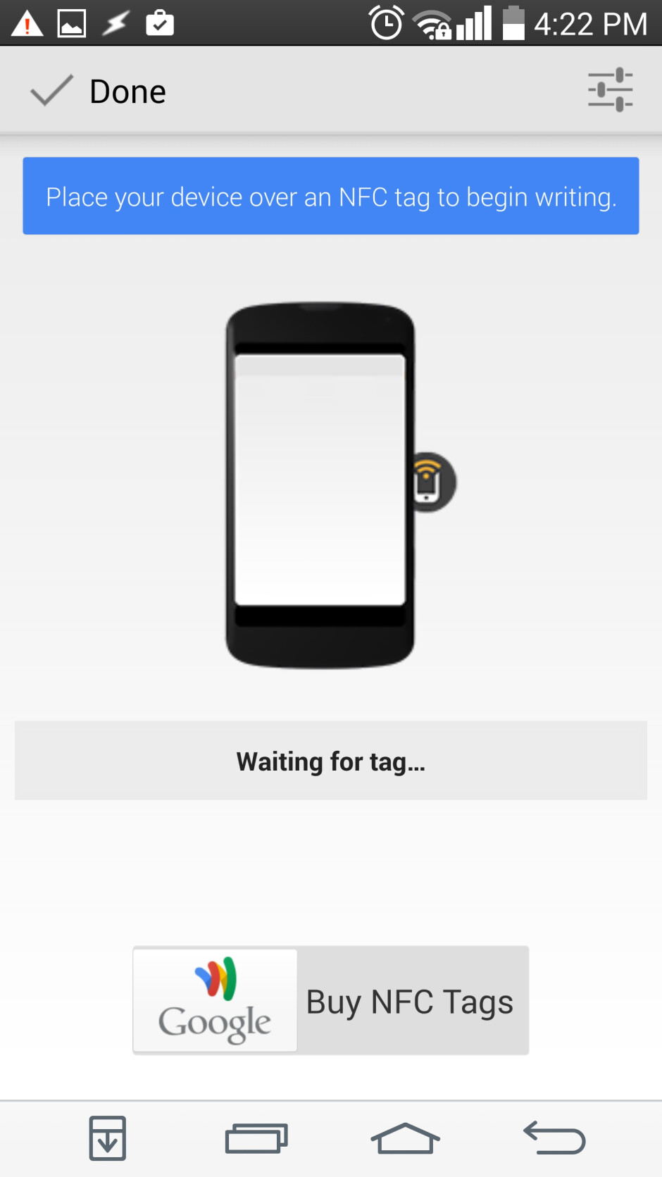 How to use an Android device and NFC tag to turn on a Windows PC