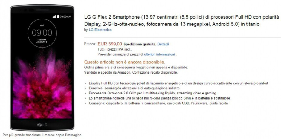 LG G Flex 2 gets a price tag, and it's not as bad as you might think