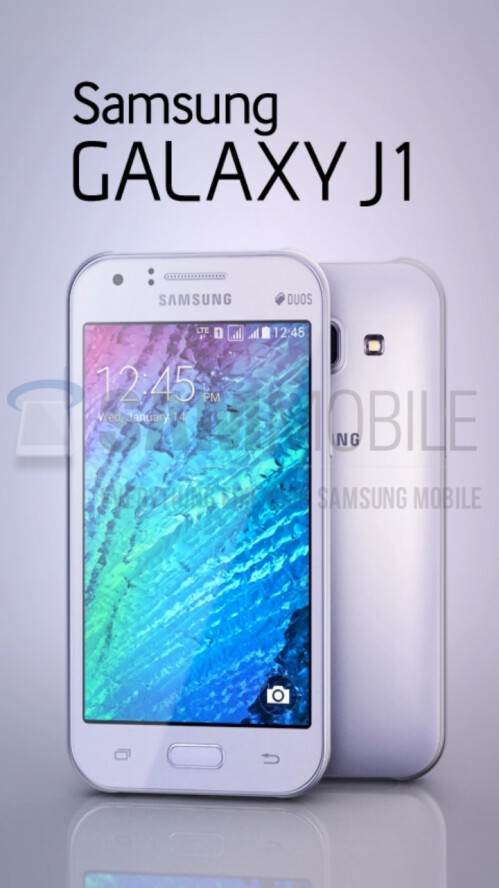 The unannounced Samsung Galaxy J1