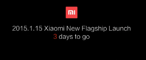 Xiaomi teases January 15th unveiling of its next flagship