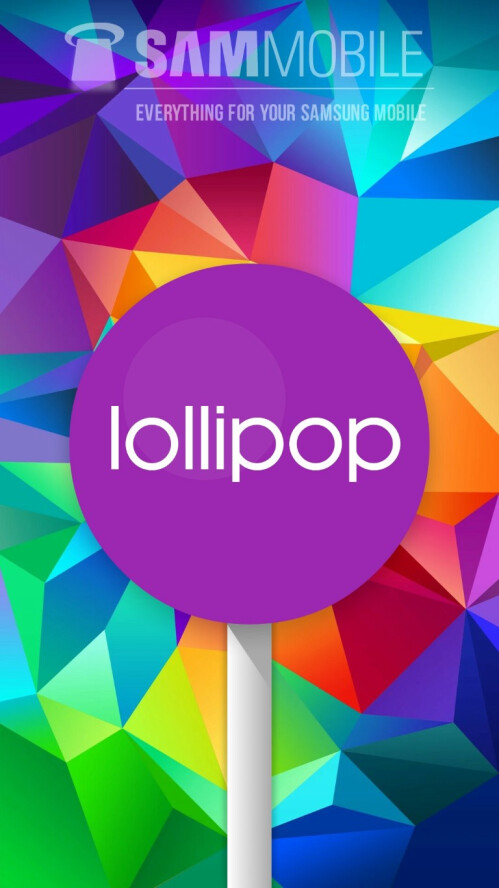 Samsung Galaxy S5 (SM-G900F) receives Android 5.0 Lollipop