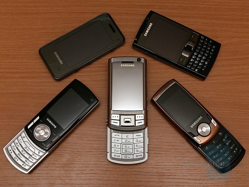 Hands-on with Samsung's GSM line for 2008