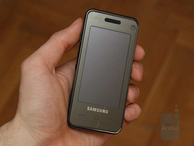 Samsung SGH-F490 - Hands-on with Samsung's GSM line for 2008