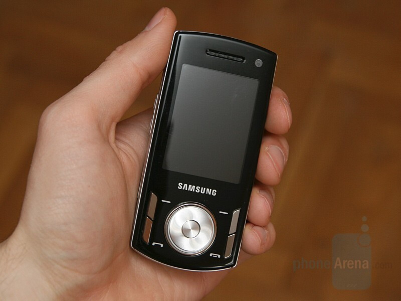 Samsung SGH-F400 - Hands-on with Samsung's GSM line for 2008