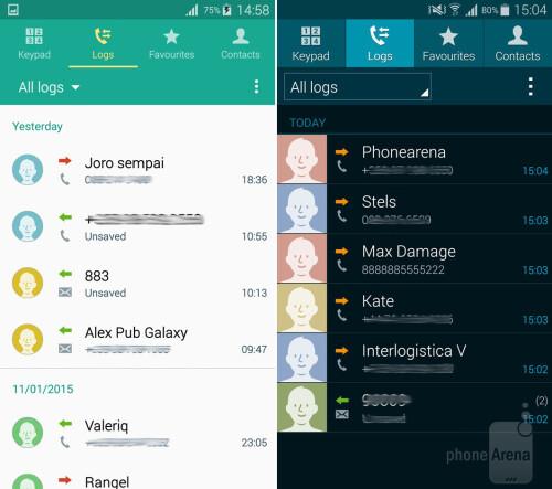 Dialer, Contacts, Messaging