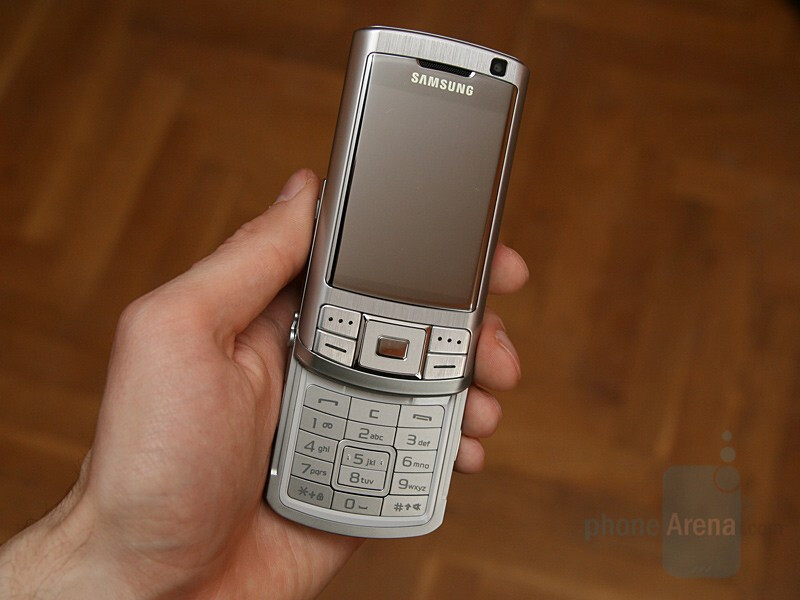 Samsung SGH-G810 - Hands-on with Samsung's GSM line for 2008