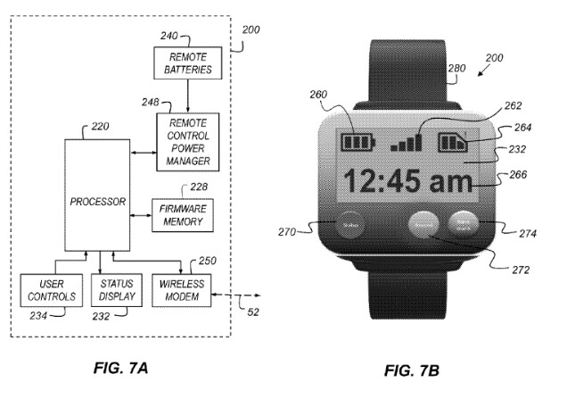 Apple has received a patent for its mountable action camera that can be controlled by a smartwatch (R) - Apple receives a patent for a mountable sports camera