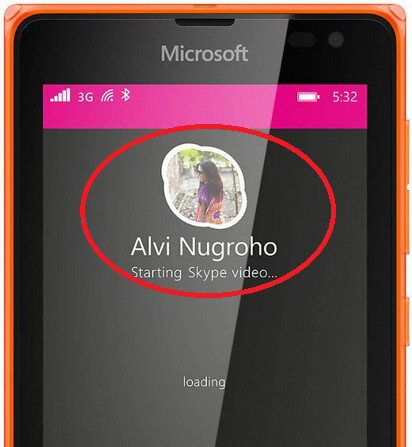 New Skype UI appears on the Nokia Lumia 532 - Previously unseen version of Skype outed by Microsoft