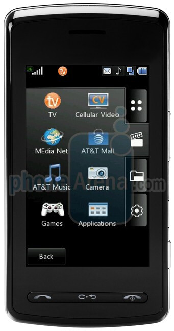 Updated: Photos and interactive user guide of the LG Vu for AT&T
