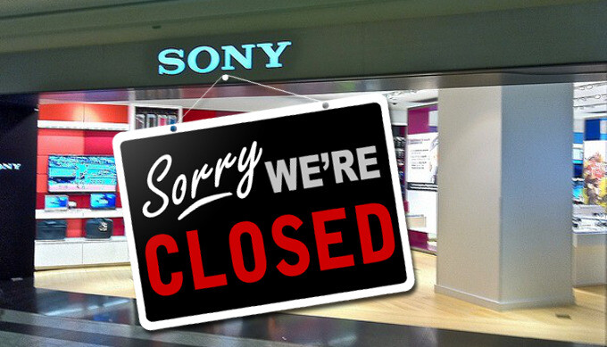 Sony will close all of its 15 retail stores in Canada in the next 2 months, what's next?