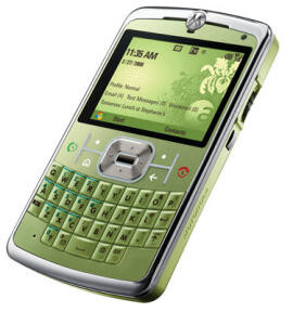 Motorola Q9c announced in Lime Green