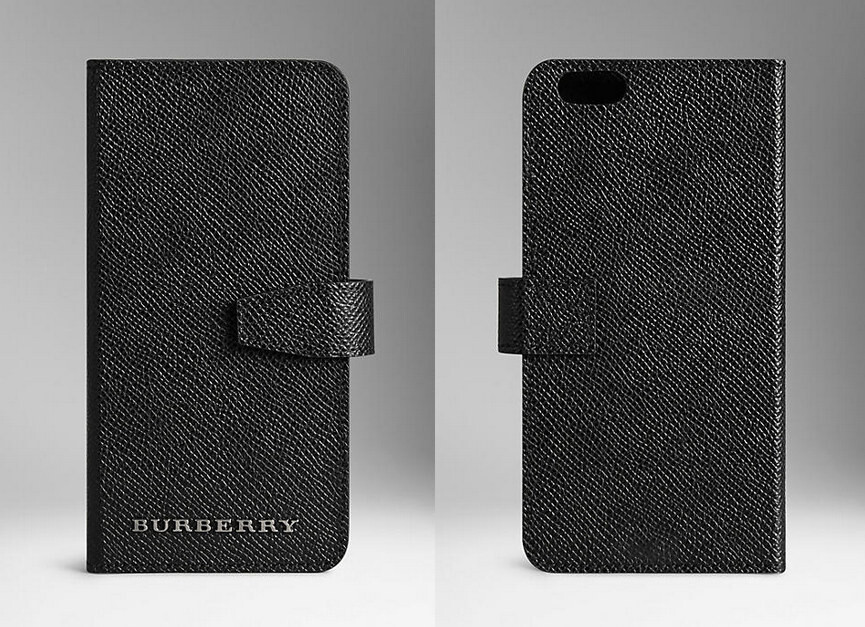 Burberry Iphone  Wallet Case