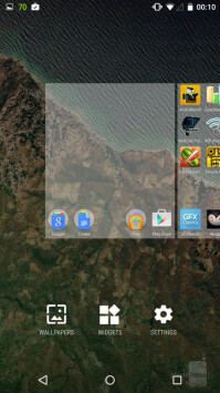 Open your widgets selection