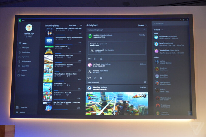 Microsoft details XBOX app for Windows 10