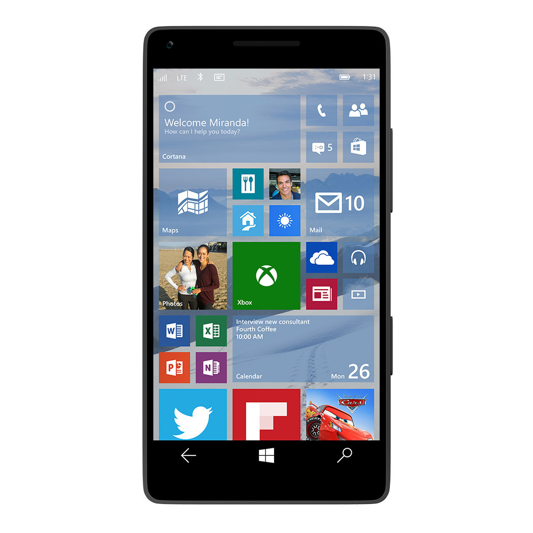 Windows 10 on a phone will arrive with universal apps ...