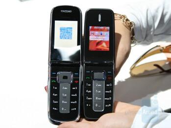Nokia 3606 next to Nokia 1606