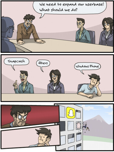 Why there is no Windows Phone version of Snapchat - Comic strip shows why Snapchat has no official Windows Phone app