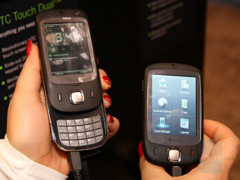 HTC Touch Dual US compared to HTC Touch - HTC Touch Dual US