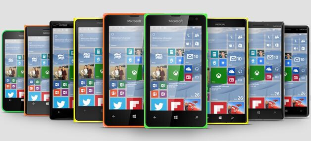 """Microsoft: """"the majority"""" of Lumia smartphones will be updated to Windows 10"""