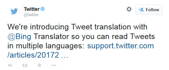 Twitter translation will allow you to read foreign language tweets - Twitter update adds Tweet translation to help you read foreign language messages