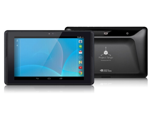 Google's Project Tango developer tablet