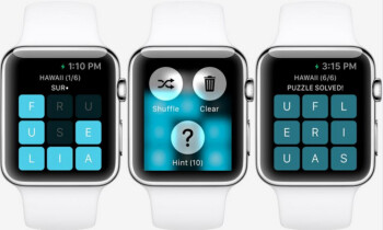 Letterpad is the first game announced for the Apple Watch