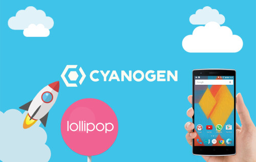 CaynogenMod 12, based on Android Lollipop