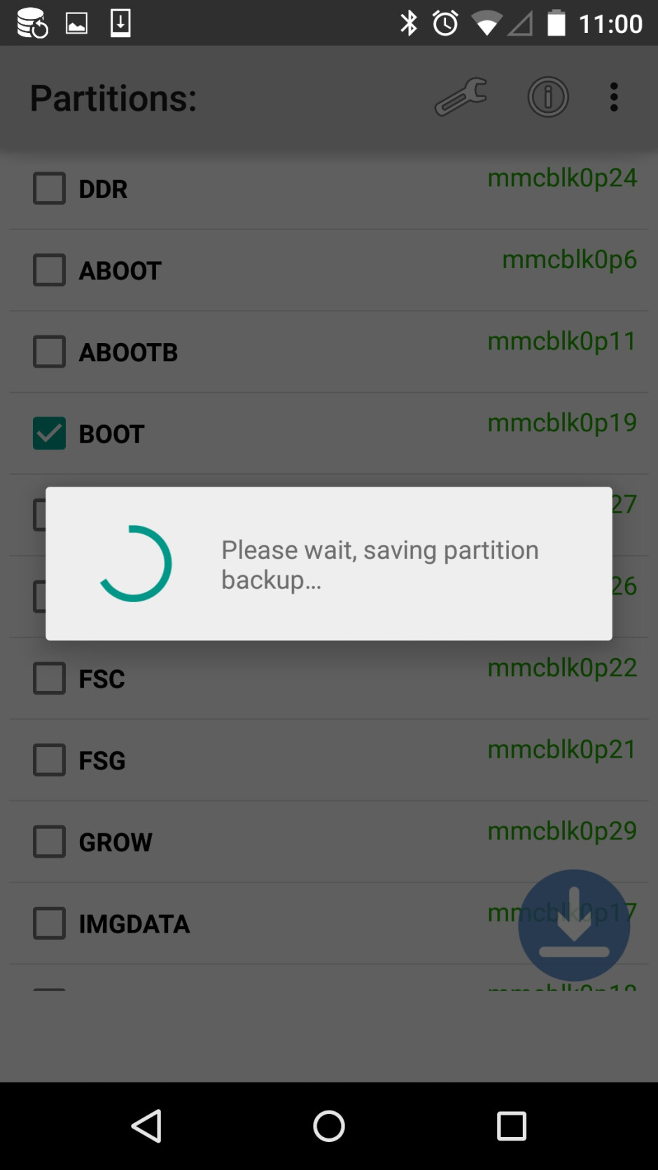 How to easily make a complete backup of your Android system partitions