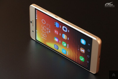 Huawei Hnor 6 Plus in gold