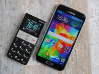 The Emporia phone I'm using now and my Galaxy S5