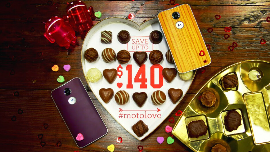 Motorola's Valentine's Day sale will let you take up to $140 off of orders (US only)