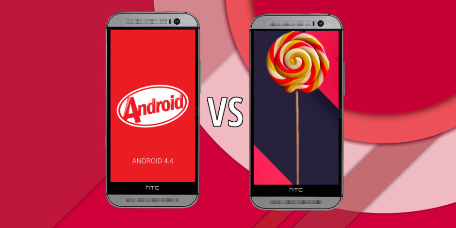 HTC One (M8) with Lollipop vs One (M8) with KitKat: UI comparison
