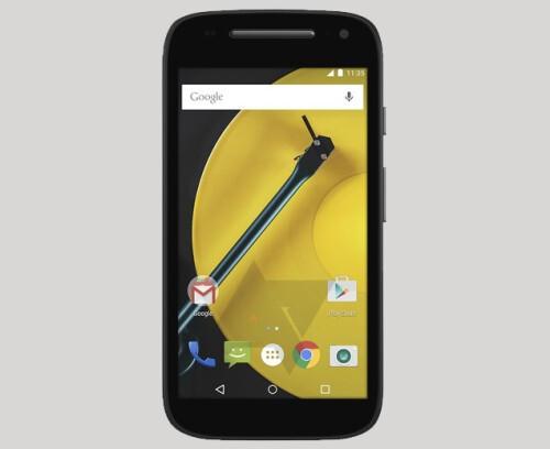 Alleged second-generation Motorola Moto E