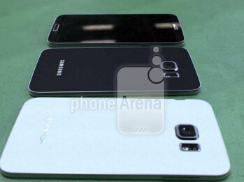 Older prototype models of the Samsung Galaxy S6