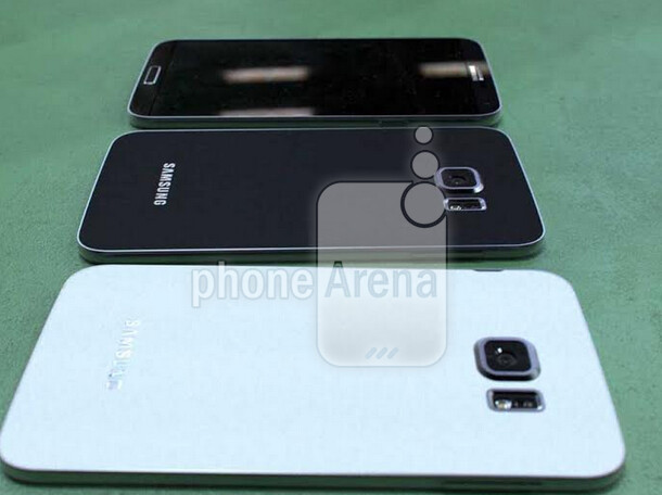 Older prototype models of the Samsung Galaxy S6 - Image of older Samsung Galaxy S6 prototypes leak; back matches picture of Galaxy S6 cases