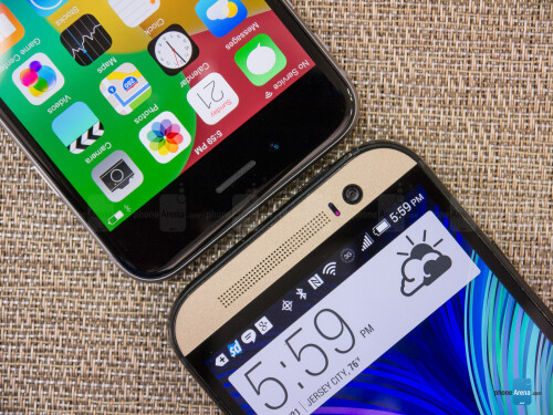 iPhone 6 versus HTC One (M8) Harman/Kardon edition