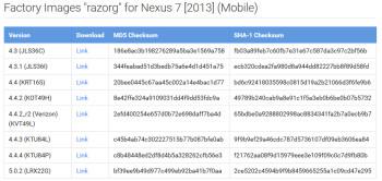 Google disponibiliza imagens de fabrica do Android 5.0.2 para o Nexus 7 1