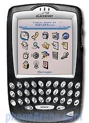 Sprint PCS launches Blackberry 7750